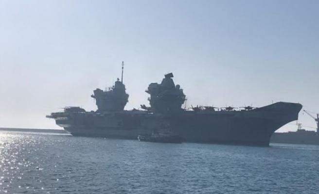 Queen Elızabeth  bu sabah Limasol Limanı'na demirledi