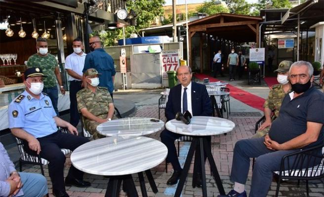 Tatar: KKTC'de sağlık koşulları iyi yönetildi, Güney'den KKTC'ye geçecek olanlar hiçbir endişe duymasın