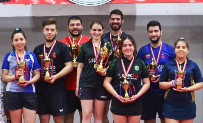 Töre ve Pekdoğan şampiyon