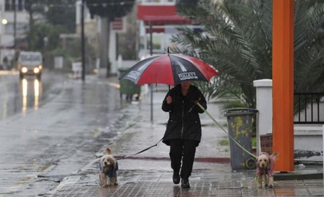 Yaz yağmuru etkili oldu en fazla yağış 17 kilogram ile Gönendere'de ölçüldü