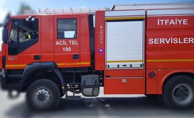 Hamitköy'de yangın çıktı