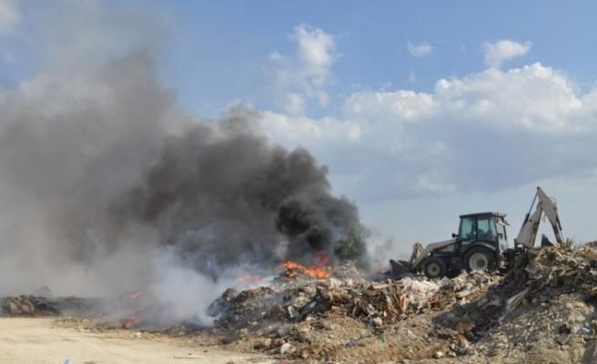 İnsan eliyle çevre felaketi;çöplük yangınları