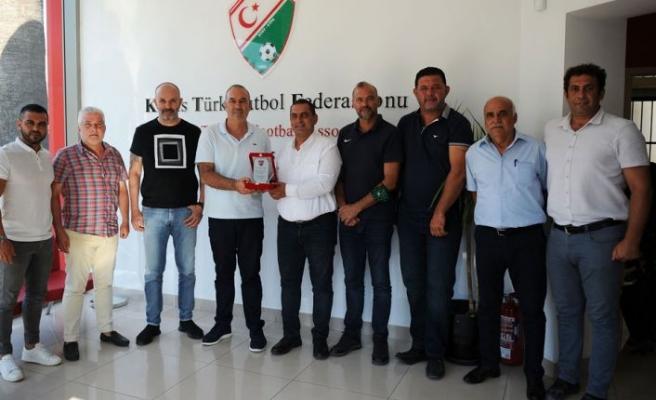 Kulüpler Birliği'nden Sertoğlu'na ziyaret
