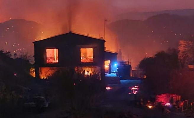 Limasol'daalevler yükseldiciğerimiz yandı