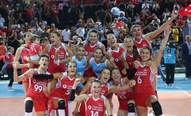 Türkiye A Milli Kadın Voleybol Takımı, tur için yarın Arjantin karşısında olacak
