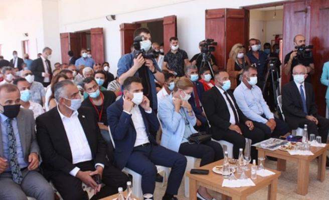 Türkiye Cumhurbaşkanı Yardımcısı Fuat Oktay Yenierenköy'ü ziyaret etti