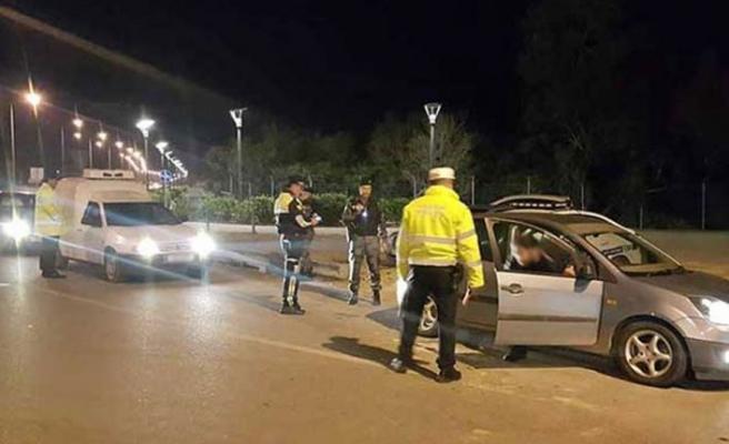 76 araç sürücüsü hakkında yasal işlem yapıldı, 7 araç trafikten men edildi