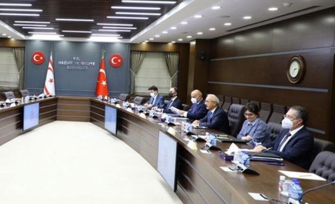 Bakan Oğuz, TC Hazine ve Maliye Bakanı Lütfi Elvan ile görüştü
