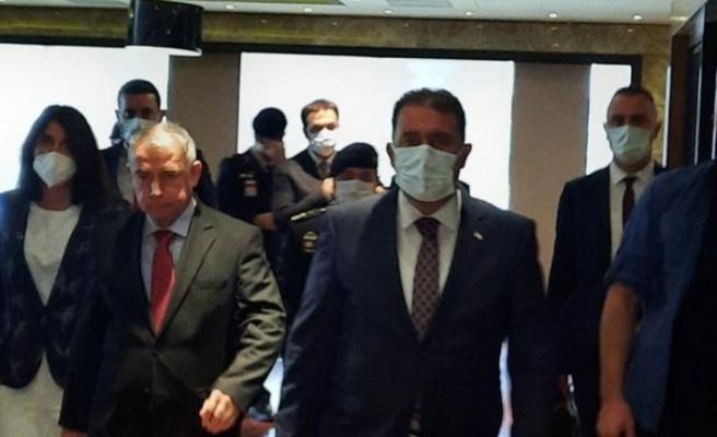 Başbakan Ersan Saner İstanbul'da