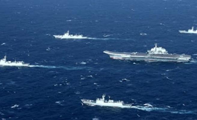 Çin, tartışmalı Güney Çin Denizi'nde askeri tatbikat yapıyor