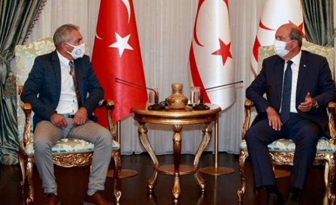 Cumhurbaşkanı Ersin Tatar; Spor ambargosu kabul edilemez