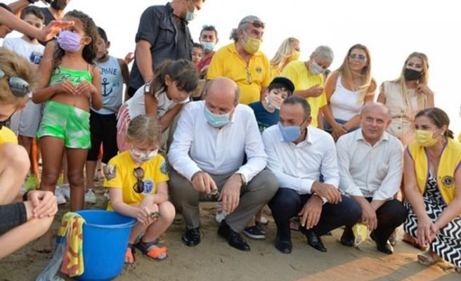"""Cumhurbaşkanı Tatar, """"Caretta Caretta Şenliği""""ne katıldı"""