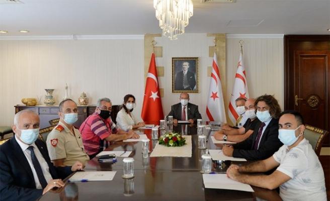 Cumhurbaşkanı Tatar: Kısa vadede risk atlatıldı ancak tedbirler uygulanmaya devam ediyor