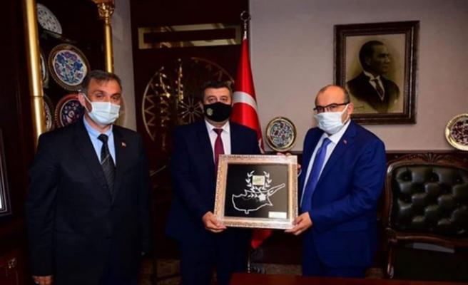 Din Gör-Sen Başkanı Çakır, Trabzon'da temaslarda bulundu
