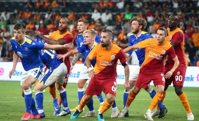 Galatasaray, Randers deplasmanında