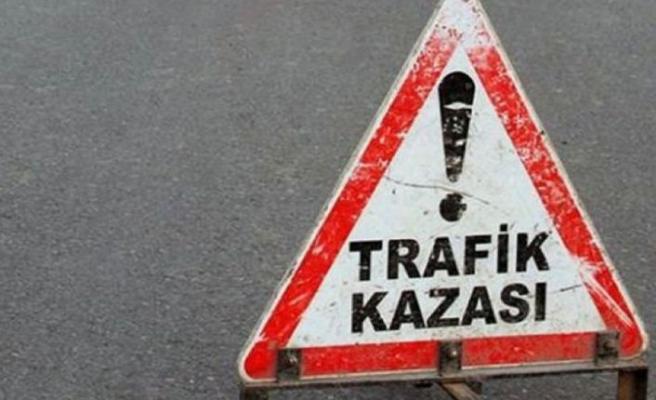 Girne- Değirmenlik yolunda bu sabah meydana gelen kazada 2 kişi yaralandı