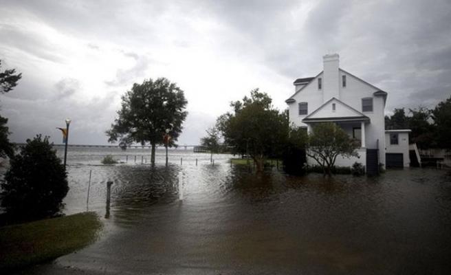 İda Kasırgası sırasında Mıssıssıppı Nehri tersine aktı