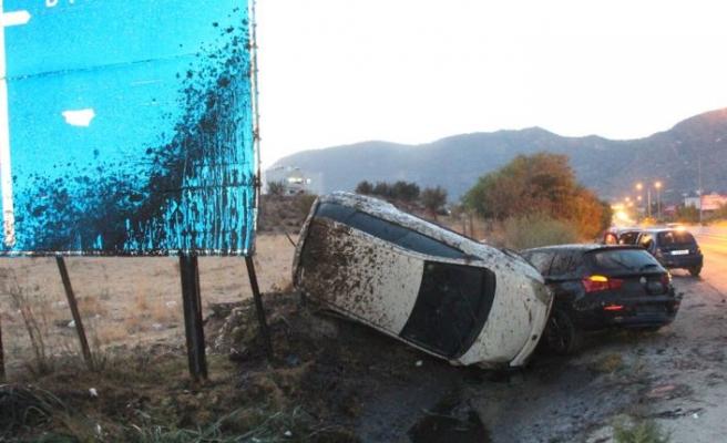 KKTC'de son bir hafta içerisinde meydana gelen trafik kazası bilançosu