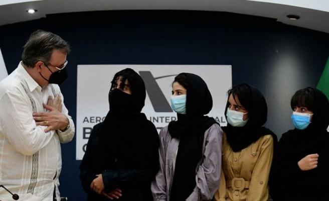 Meksika, Uluslararası ödüllü 5 Afgan kadınını ülkeye kabul etti