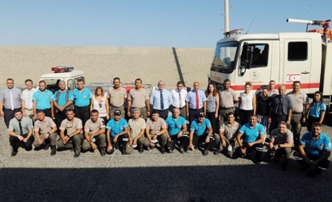 Orman yangınlarıyla mücadeleye destek için Türkiye'ye giden ekipler yurda döndü