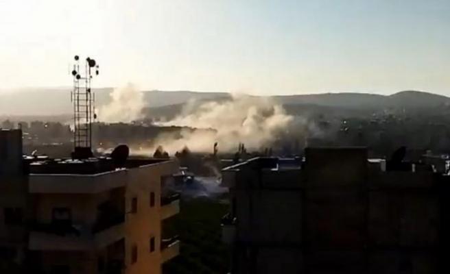 Suriye'nin Afrin ilçesine hava saldırısı düzenlendi