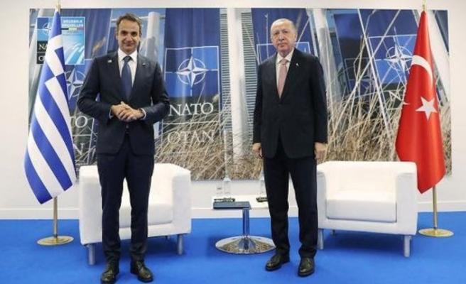 TC Cumhurbaşkanı Erdoğan, Yunanistan Başbakanı Miçotakis ile görüşecek