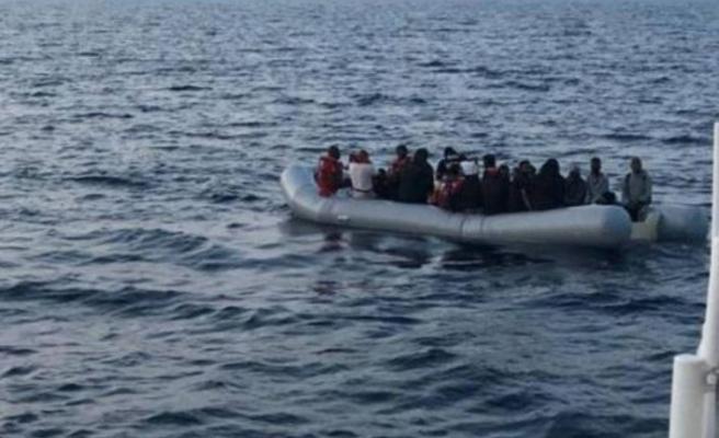 Tunus açıklarında 231 düzensiz göçmen yakalandı