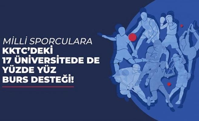 Türkiye Milli Sporcuları KKTC'deki 17 üniversitede tam burslu okuyabilecek