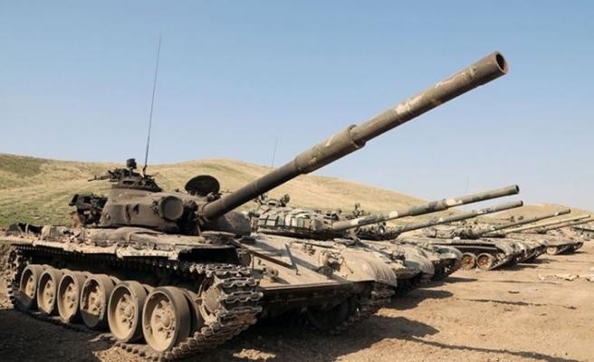 Azerbaycan Ordusunun bir yıl önce 44 günde elde ettiği zaferler 30 yıllık işgali sonlandırdı