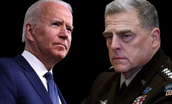 Biden, Genelkurmay Başkanı Milley'e güveninin tam olduğunu söyledi