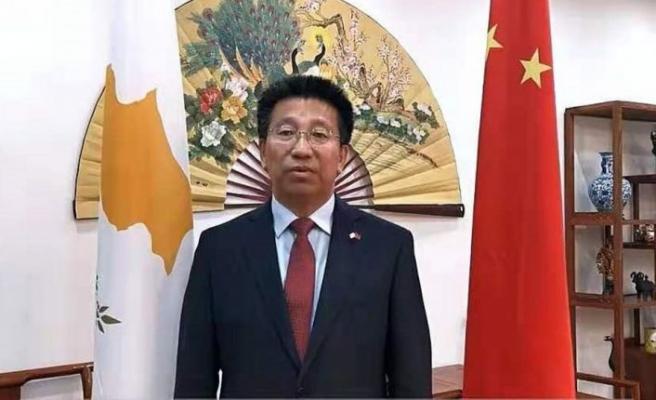 Çin'in Güney Kıbrıs büyükelçisi'nden açıklamalar