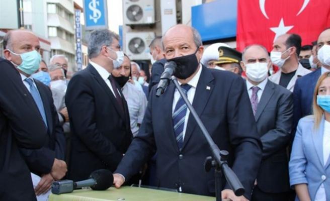 Cumhurbaşkanı Ersin Tatar Akşehir ilçesini ziyaret etti