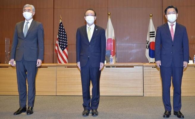 Japonya, ABD ve Güney Kore, Kuzey Kore'nin nükleersizleştirilmesine yönelik iş birliğinin artırılmasında anlaştı
