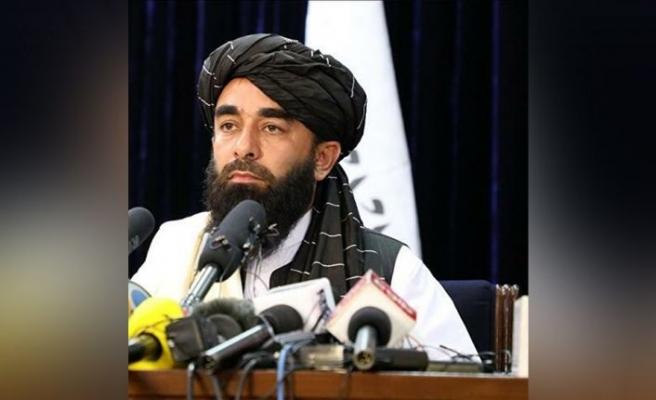 """Taliban Sözcüsü Mücahid, """"Geçici Hükumet""""i ilan ettiği toplantıda gündeme ilişkin konulara değindi:"""
