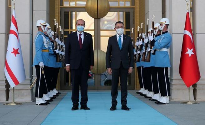 T.C Cumhurbaşkanı Yardımcısı Oktay: Suriye kaynaklı petrol sızıntısına ilişkin herhangi bir risk görünmüyor