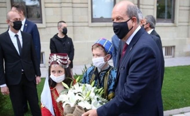 Cumhurbaşkanı Ersin Tatar, Eskişehir'de Kıbrıs'taki durumu anlattı
