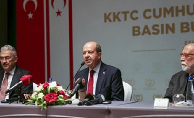 """Cumhurbaşkanı Tatar: """"Maraş bölgesini 230 binden fazla kişi ziyaret etti"""""""