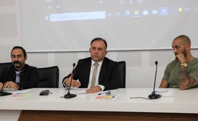 """Gençlik Dairesi'nin """"öncü gençler"""" projesi altında ilk toplantı yapıldı"""
