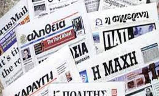 KKTC'deki hükümetin istifası Rum basınında