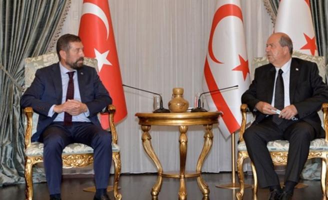 """Tatar: """"Kıbrıs Türk Halkı Türkiye'nin kopmaz bir parçasıdır"""""""