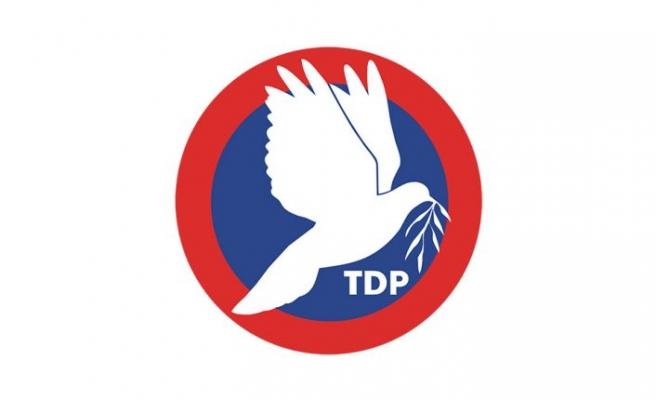 TDP'nin 7'nci olağan Genel Kurultayı 16 Ekim'de