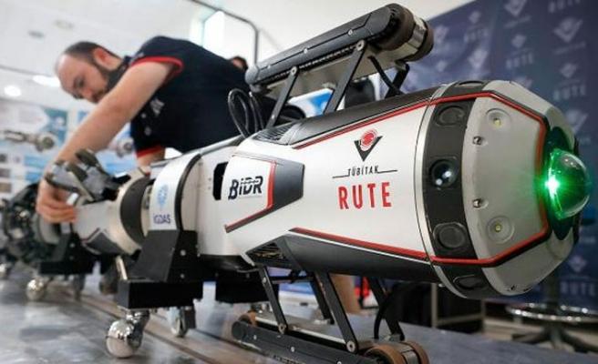 Türkiye doğalgaz kaçaklarını anında tespit edecek robot geliştirdi