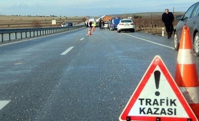 Bir haftada 52 trafik kazası,1 ölü, 15 yaralı