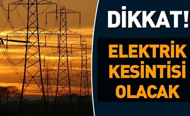 Dikkat! Güzelyurt'ta elektrik kesintisi yapılacak