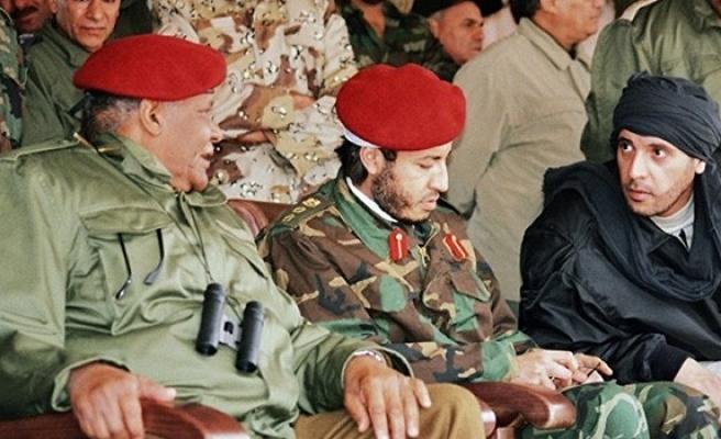 Oğul Kaddafi'nin Putin'e mektubu