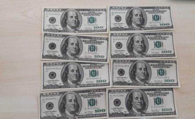 Güzelyurt'ta sahte 100'lük Amerikan Doları tedavüle sürüldü