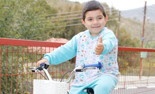 Selim bisikletine kavuştu