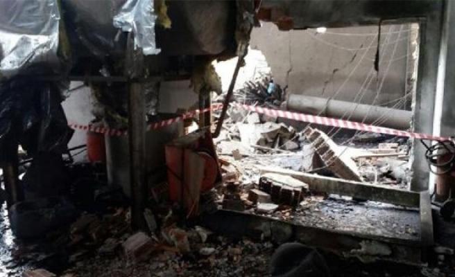 Bursa'da fabrikada patlama ve göçük: 3 ölü