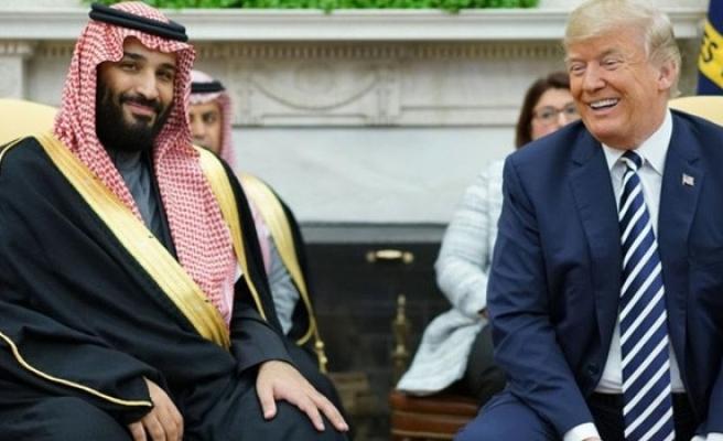 Trump Suudi Prensi korudu,'suçlu tüm dünya olabilir' dedi