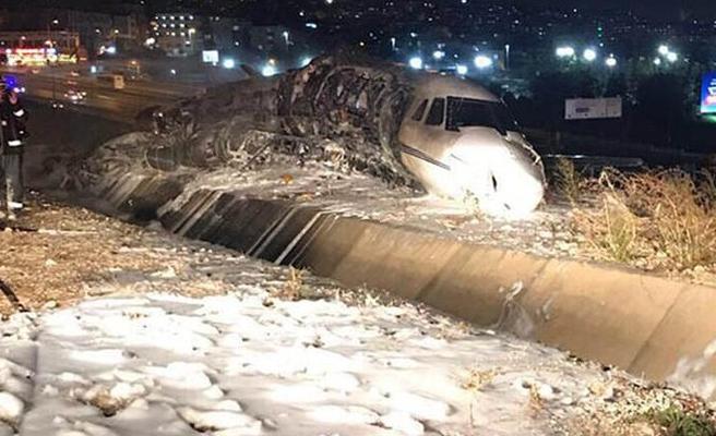 KKTC'ye gelecek olan özel jet düştü